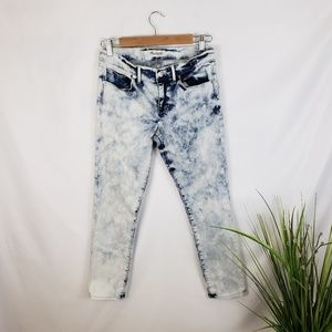 Madewell Acid Wash Ankle Cropped Jeans Size 28